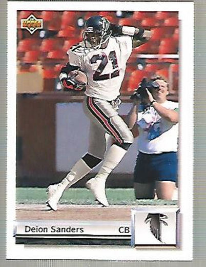 1992 Upper Deck Gold #G27 Deion Sanders