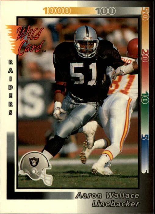 1992 Wild Card #309 Aaron Wallace