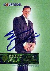 1993 Courtside Sean Dawkins #AU1 Sean Dawkins AU/5000