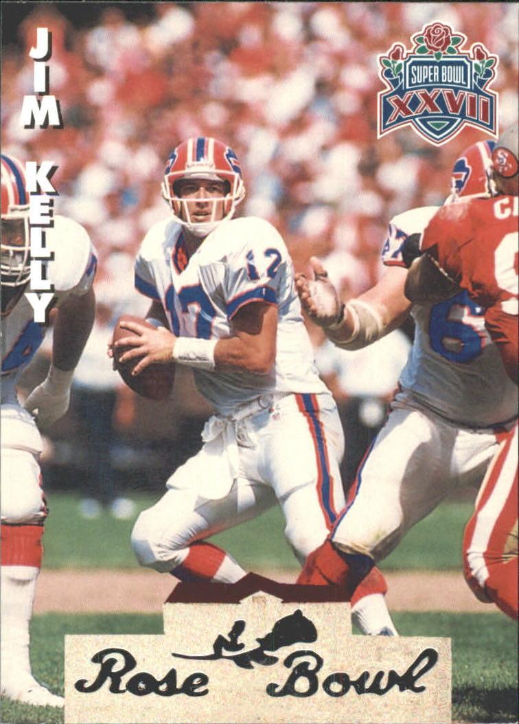 1993 Heads and Tails SB XXVII #SB13 Jim Kelly