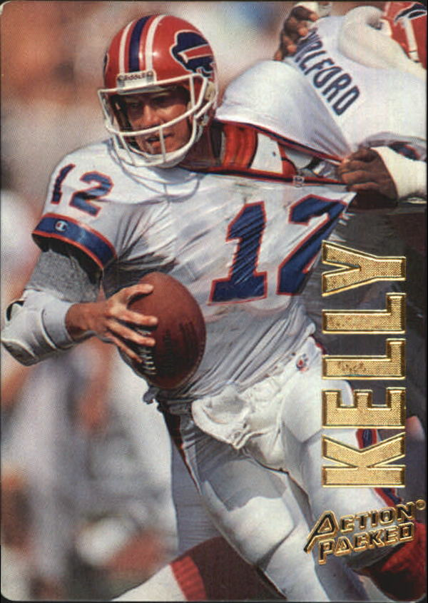 1993 Action Packed #4 Jim Kelly