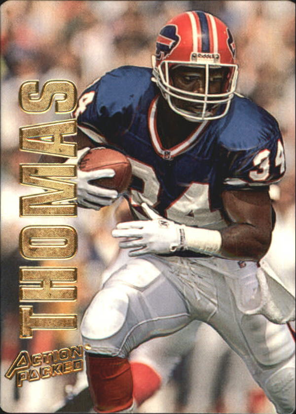 1993 Action Packed #6 Thurman Thomas