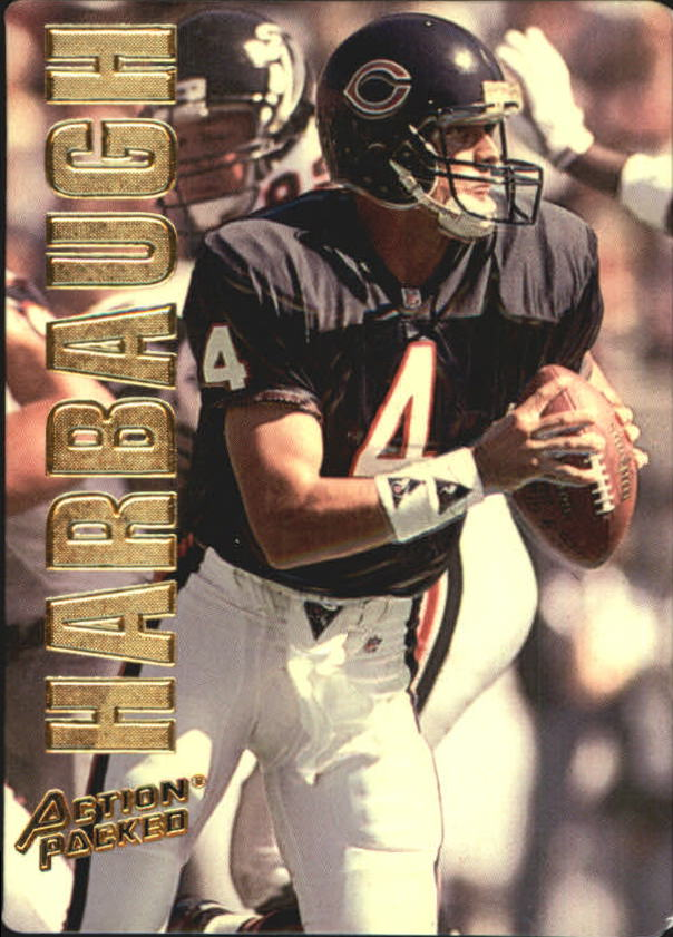 1993 Action Packed #7 Jim Harbaugh