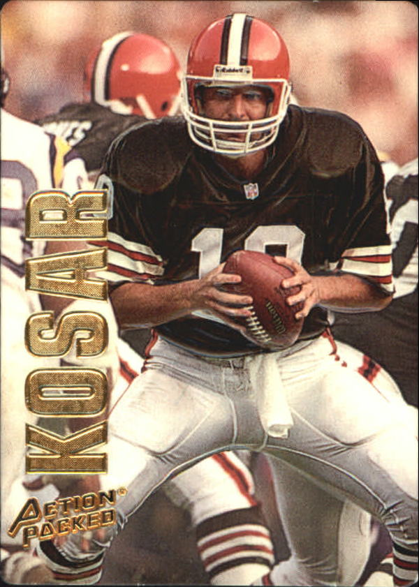 1993 Action Packed #10 Bernie Kosar