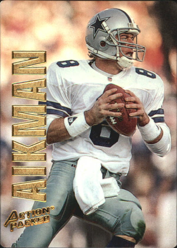 1993 Action Packed #11 Troy Aikman