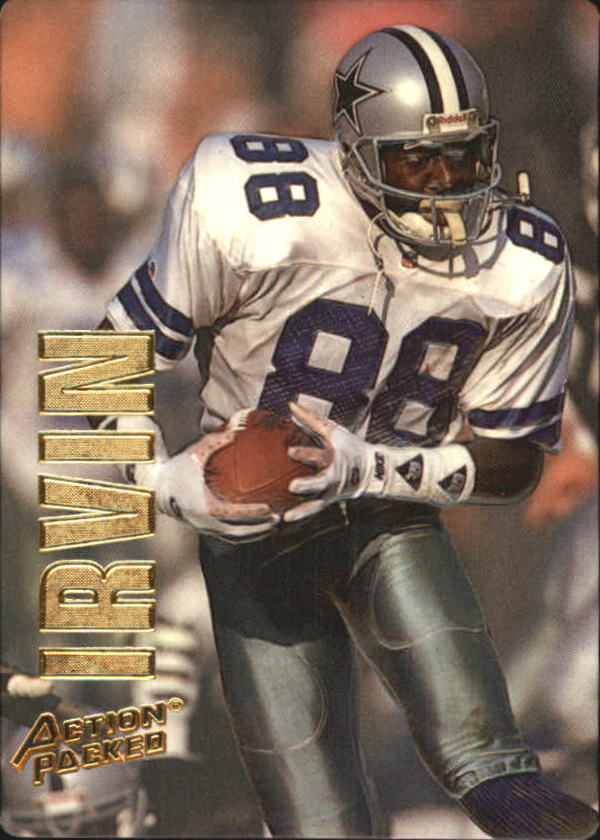 1993 Action Packed #12 Michael Irvin