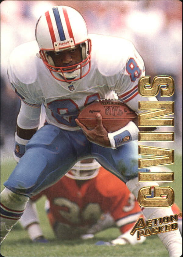1993 Action Packed #18 Ernest Givins