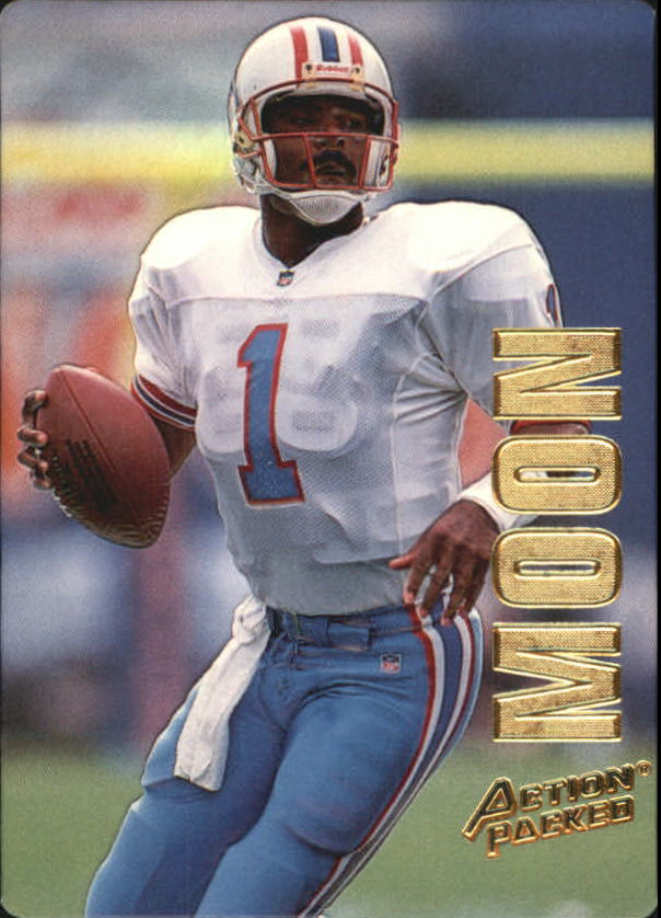 1993 Action Packed #20 Warren Moon
