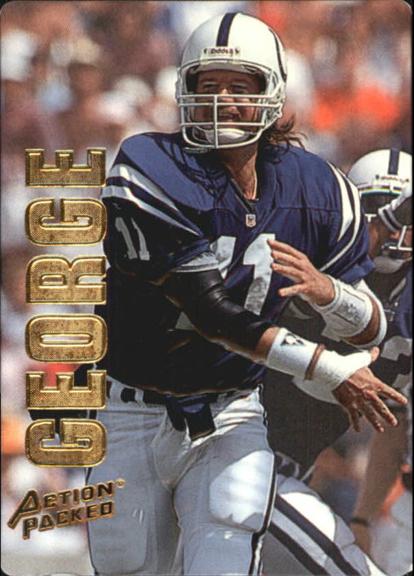 1993 Action Packed #22 Jeff George