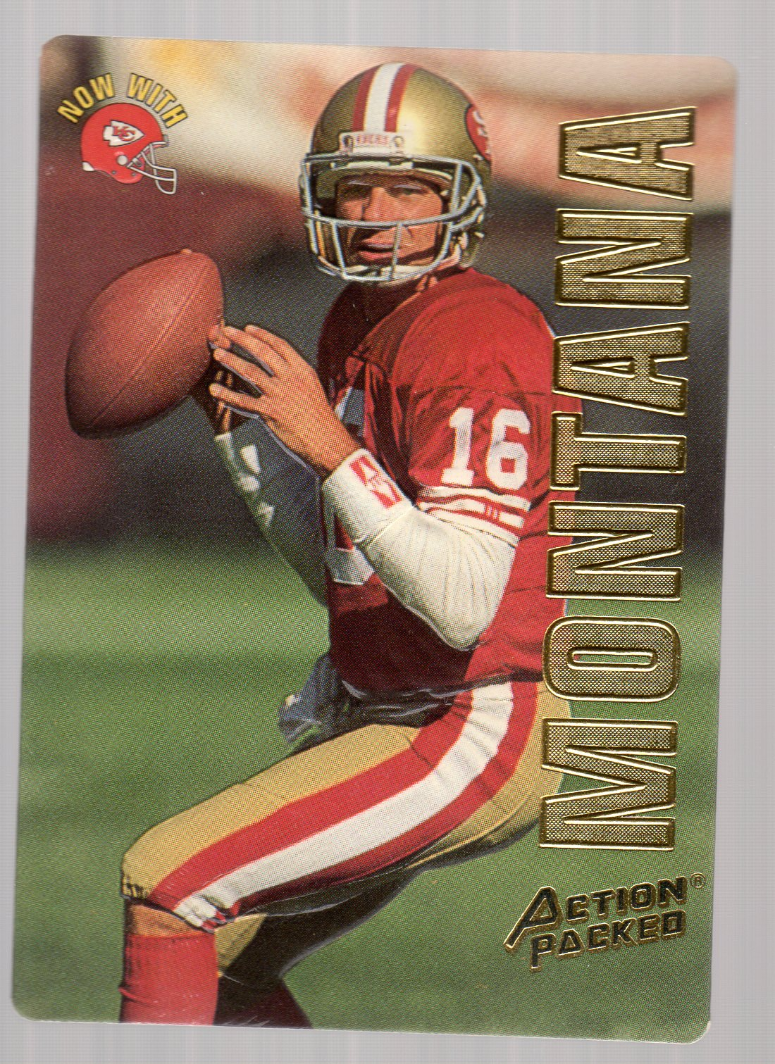 1993 Action Packed #23 Joe Montana