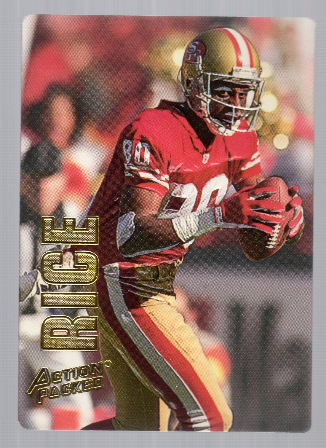 1993 Action Packed #37 Jerry Rice