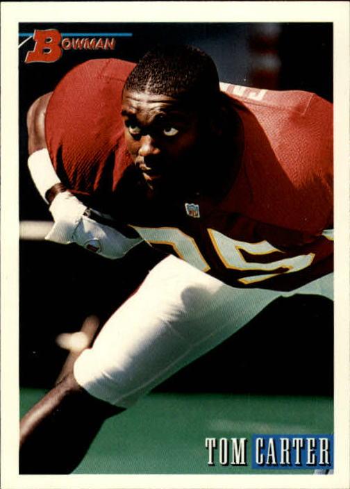 1993 Bowman #5 Tom Carter RC