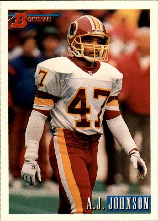 1993 Bowman #86 A.J. Johnson