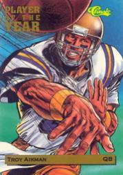 1993 Classic #POY1 Troy Aikman POY/17,500