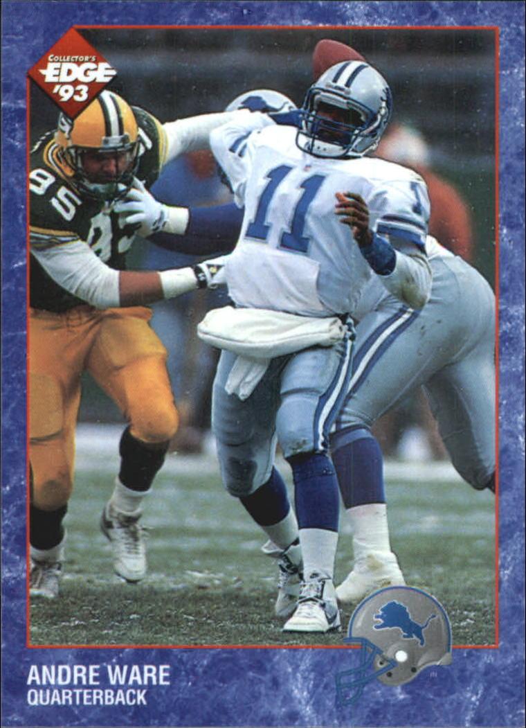 1993 Collector's Edge #65 Andre Ware
