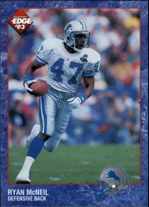 1993 Upper Deck SP #85 Ryan McNeil Detroit Lions RC Rookie Football Card