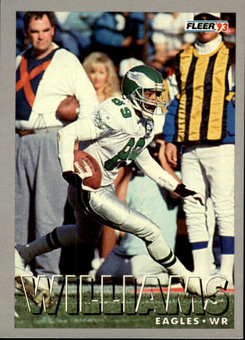 1993 Fleer #5 Calvin Williams