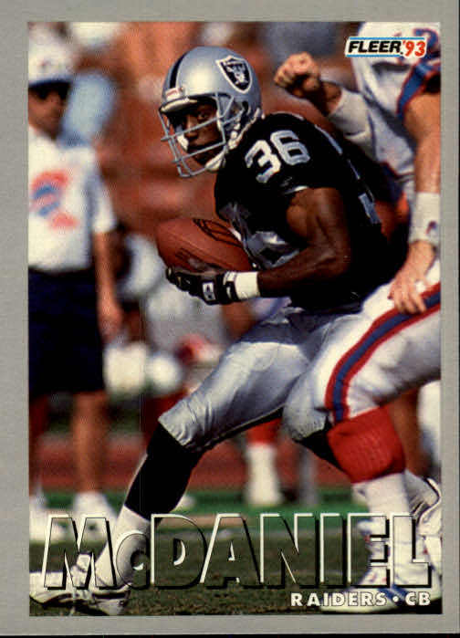 1993 Fleer #6 Terry McDaniel
