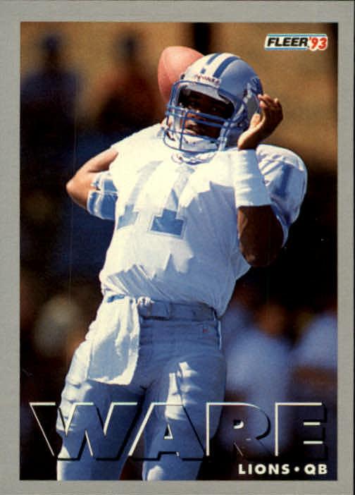 1993 Fleer #173 Andre Ware