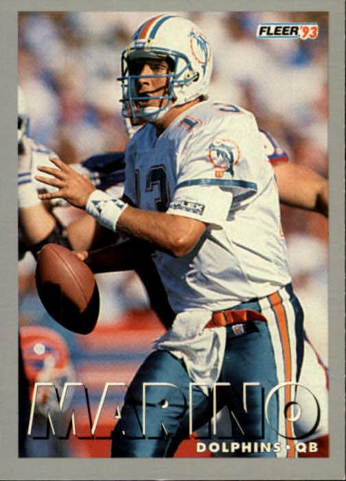 1993 Fleer #278 Dan Marino