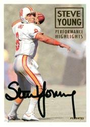 1993 Fleer Steve Young Autographs #5 Steve Young