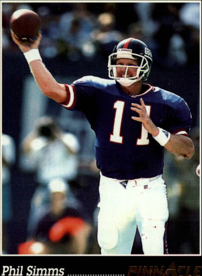 1993 Pinnacle #239 Phil Simms