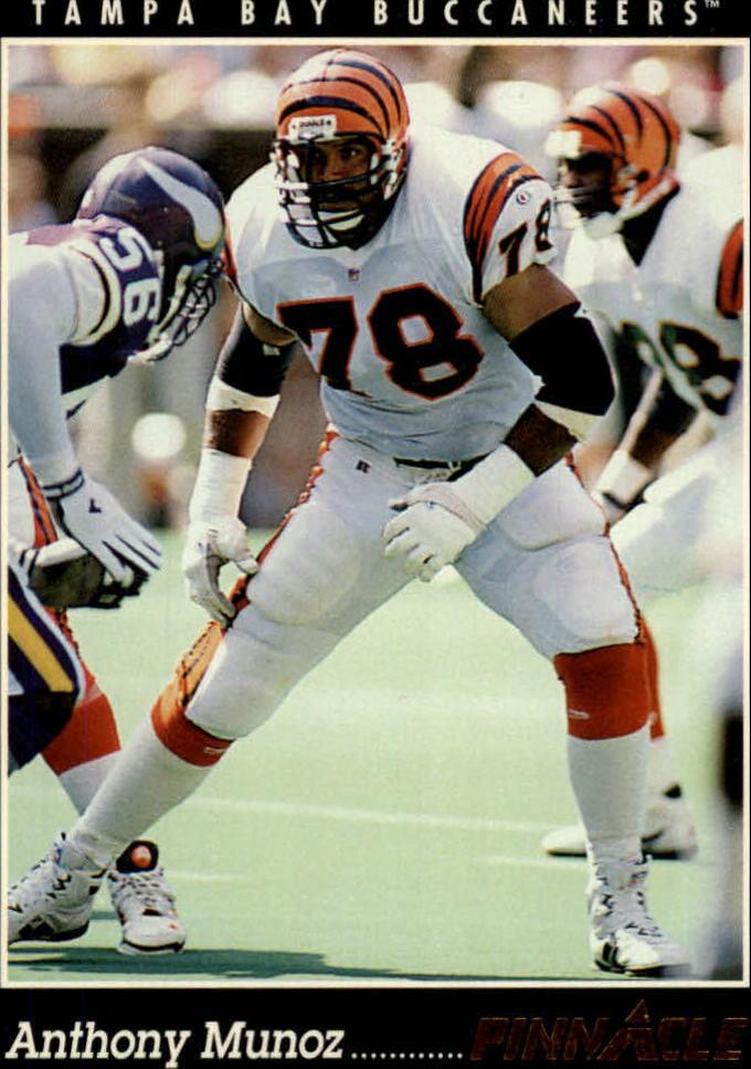 1993 Pinnacle #348 Anthony Munoz