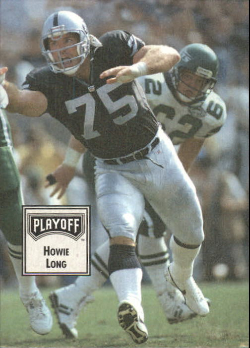 1993 Playoff Contenders #59 Howie Long