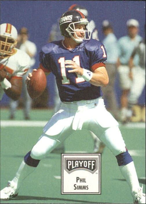 1993 Playoff Contenders #73 Phil Simms