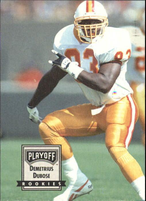 1993 Playoff Contenders #98 Demetrius DuBose RC