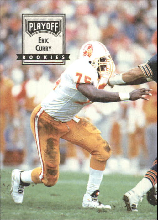 1993 Playoff Contenders #99 Eric Curry RC