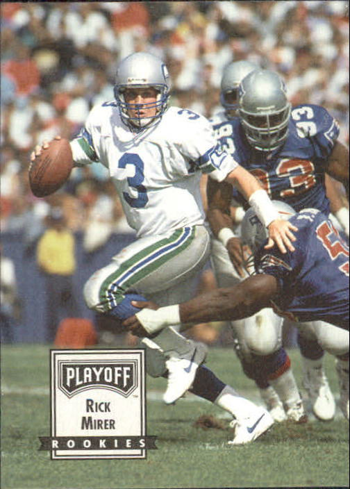 1993 Playoff Contenders #100 Rick Mirer RC