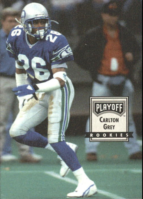 1993 Playoff Contenders #101 Carlton Gray UER RC