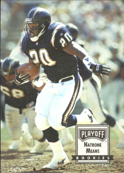 1993 Playoff Contenders #104 Natrone Means RC