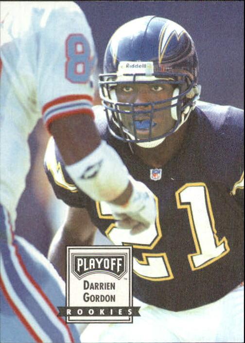 1993 Playoff Contenders #105 Darrien Gordon RC