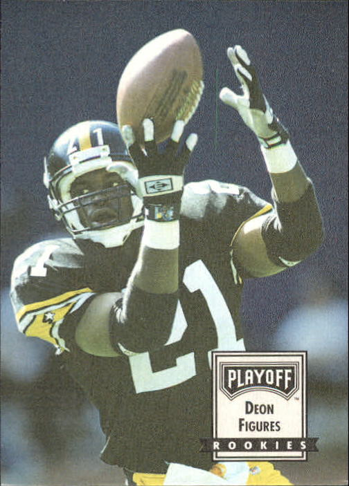 1993 Playoff Contenders #106 Deon Figures RC