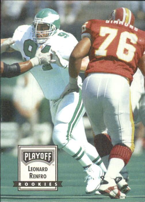 1993 Playoff Contenders #109 Leonard Renfro RC