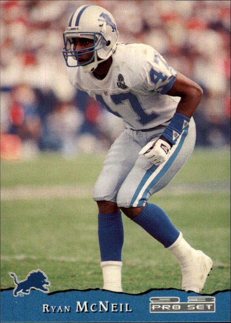 1993 Upper Deck SP #85 Ryan McNeil Detroit Lions RC Rookie Football Card
