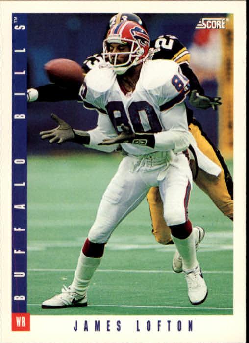 1993 Score #33 James Lofton