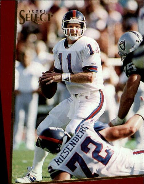 1993 Select #19 Phil Simms