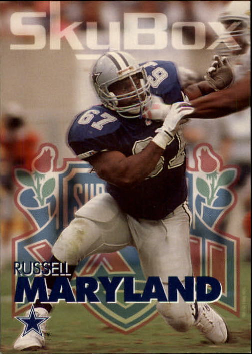 1993 SkyBox Impact #72 Russell Maryland