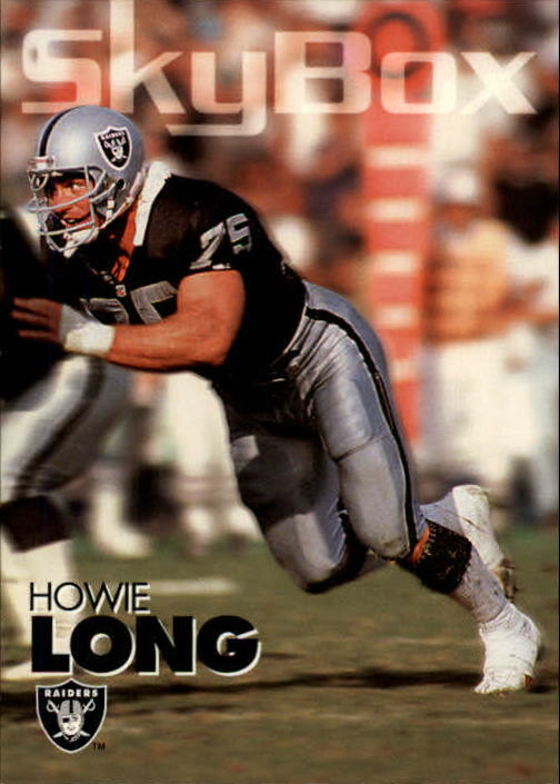 1993 SkyBox Impact #155 Howie Long