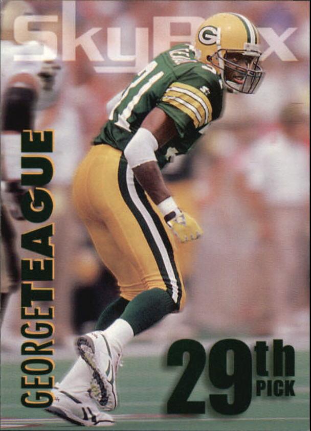 1993 SkyBox Impact Rookie Redemption #R29 George Teague