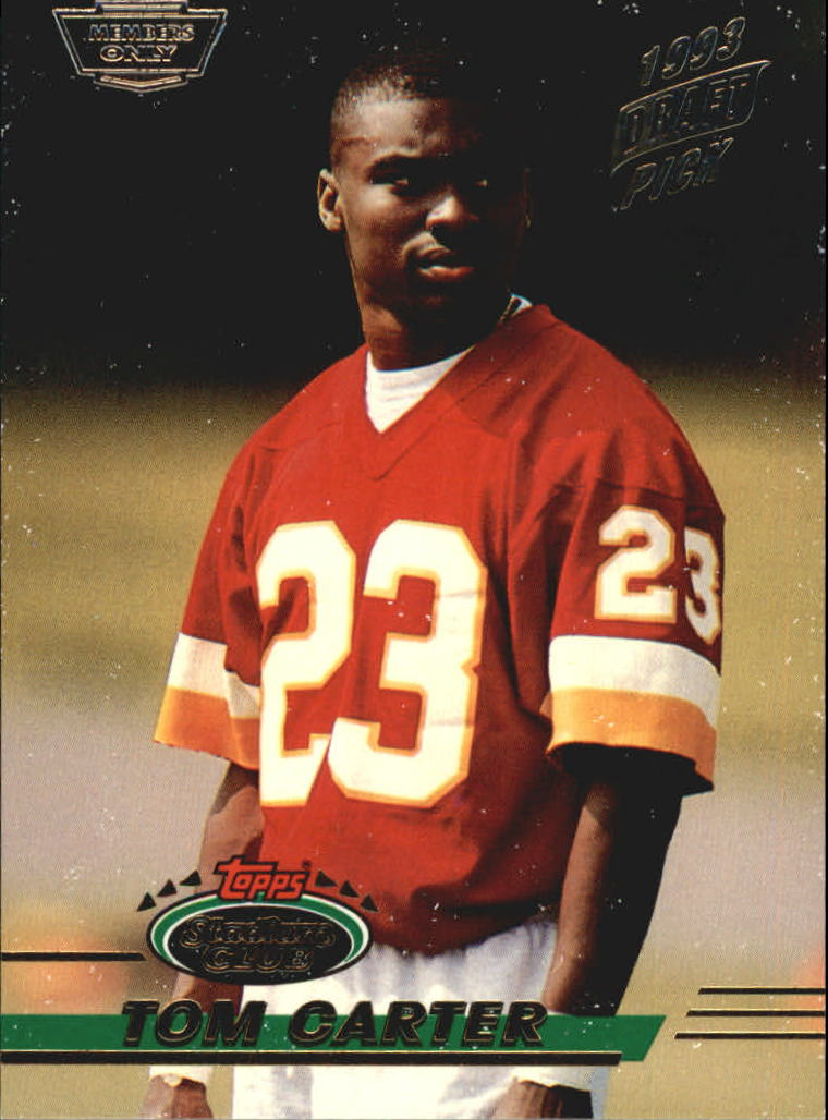 1993 Stadium Club #73 Tom Carter RC