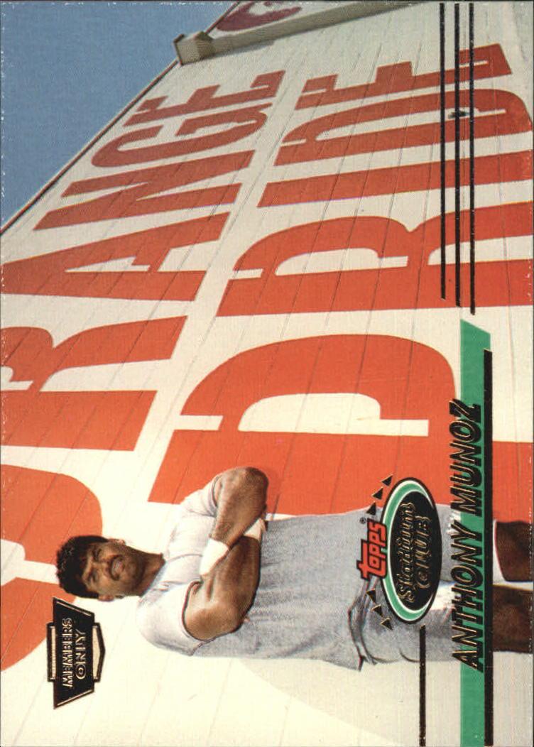 1993 Stadium Club #122 Anthony Munoz
