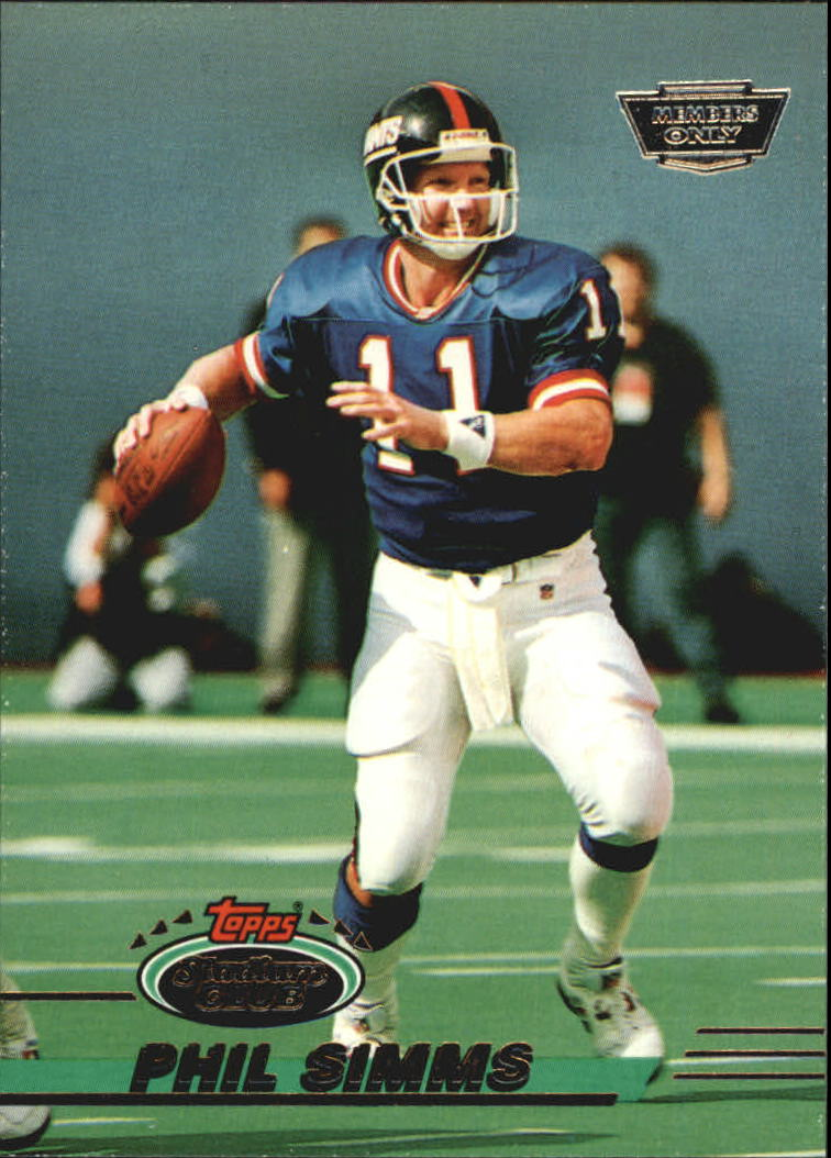 1993 Stadium Club #220 Phil Simms