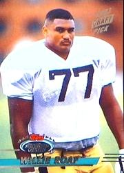 1993 Stadium Club #469B Willie Roaf RC COR/(draft pick logo on front)