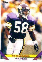 1993 Topps #342 Ed McDaniel
