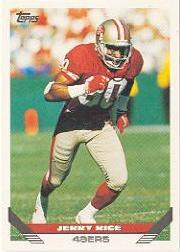 1993 Topps #500 Jerry Rice