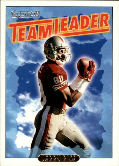 1993 Topps Gold #182 Jerry Rice TL